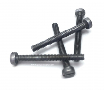 6BA x 1inch MS Slotted Cheese Head Machine Screw