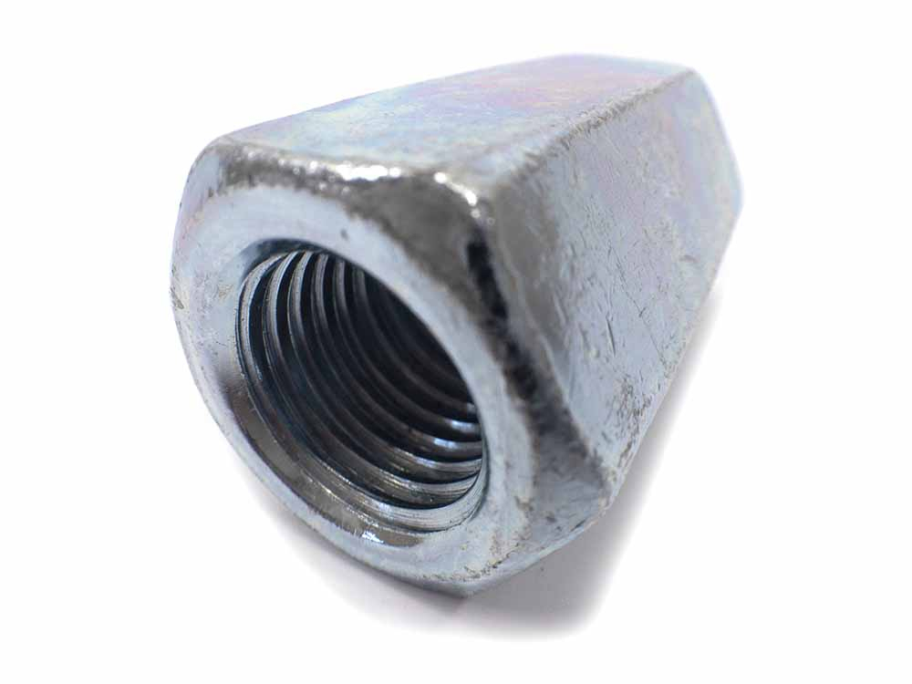 M24 x 72mm Studding Connector Zinc Plated Plated