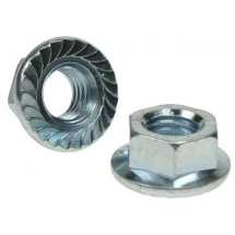 Flange Nuts (Serrated)
