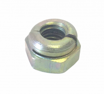 Zinc & Yellow Aerotight Nuts
