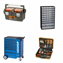 Toolboxes, Bags, Trolleys & Storage