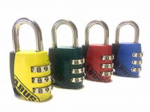Abus 155/30 30mm Combination Padlock (3-Digit) Mixed Colour