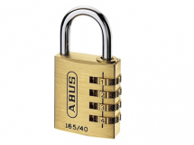 Abus 165/40 40mm Solid Brass Body Combination Padlock