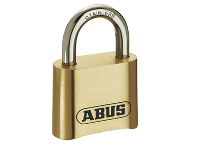 Abus 180IB/50 50mm Brass Body Combination Padlock