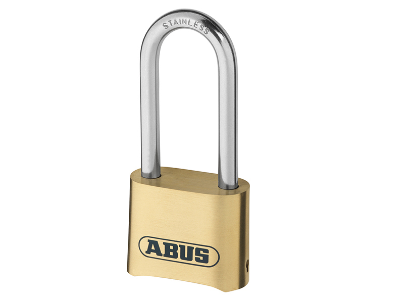 Abus 180IB/50HB63 50mm Brass Body Combination Padlock