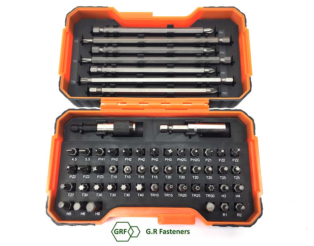 Bahco 59/S54B Bit Set 54 Piece