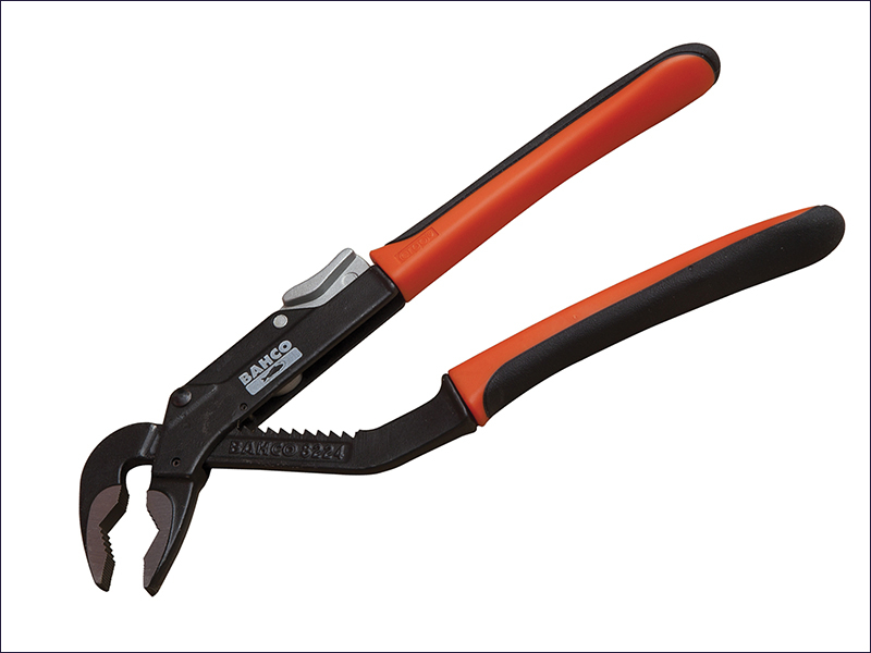 Bahco 8224 Slip Joint Pliers ERGO Handle 250mm - 45mm Capacity
