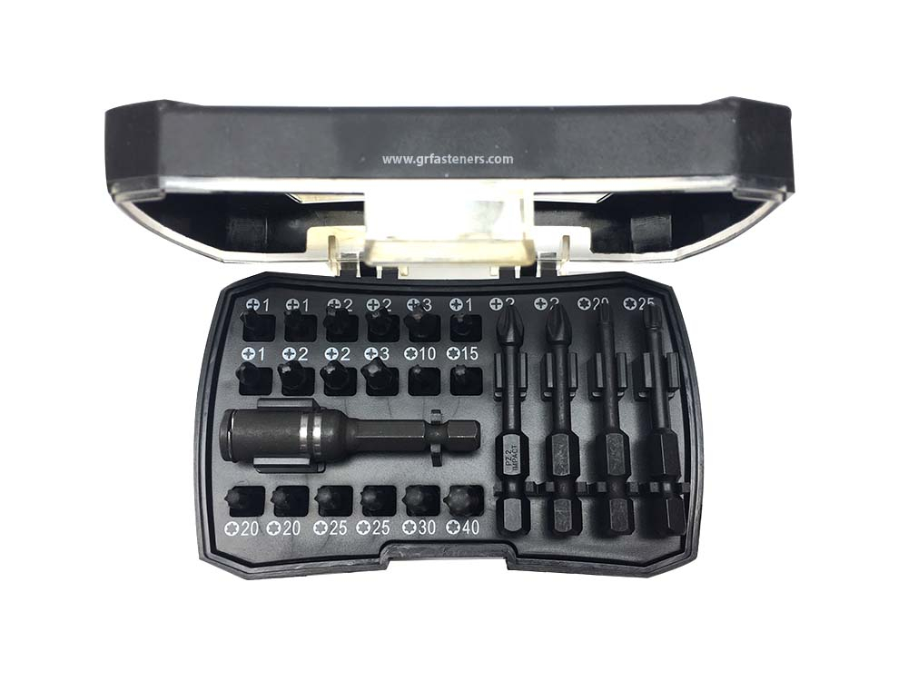 Cobit 23 Piece Impact Screwdriver Bit Set