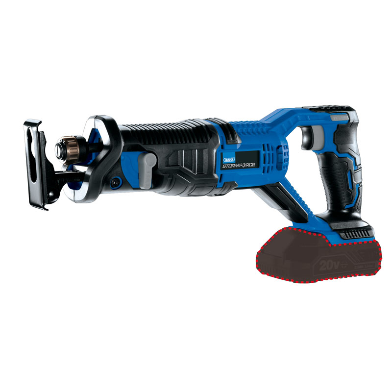 Draper 89459 Storm Force® 20V Reciprocating Saw