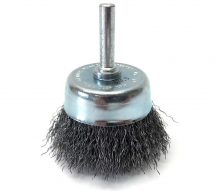 Dronco Osborn 50x6mm Steel Wire Cup Brush Crimped