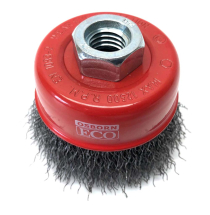 Dronco Osborn M14 x 65mm Steel Crimped Cup Brush