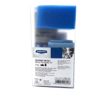 Osborn Unipol Metal Polish Kit 125ml Tube Sponge & Cloth