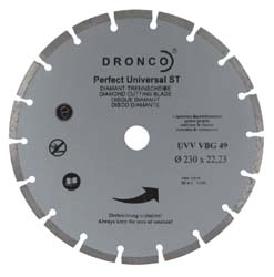 Dronco 230mm Diamond Cutting Disc