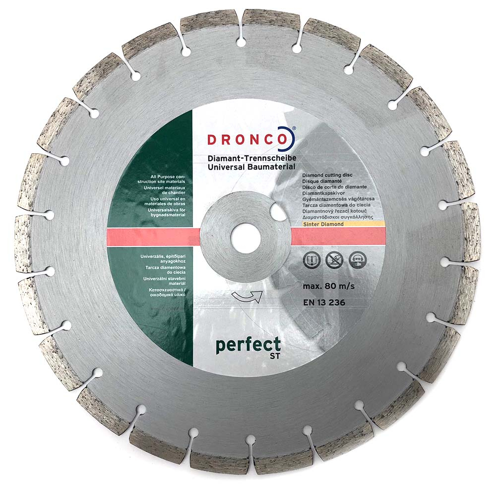Dronco 300mm Diamond Cutting Disc