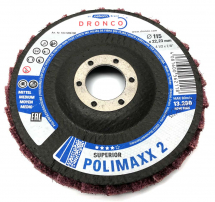 Dronco 115x22.23 Superior Polimaxx 2 Polishing Flap Disc