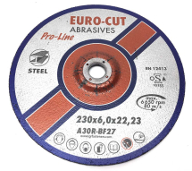 Eurocut Metal Grinding Disc 230mm x 6 x 22