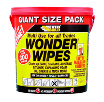 Everbuild Giant Wonder Wipes Tub x 300