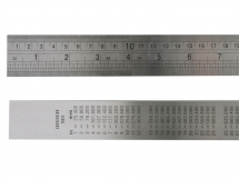 Fisher F39ME Steel Rule 1 Metre / 39in