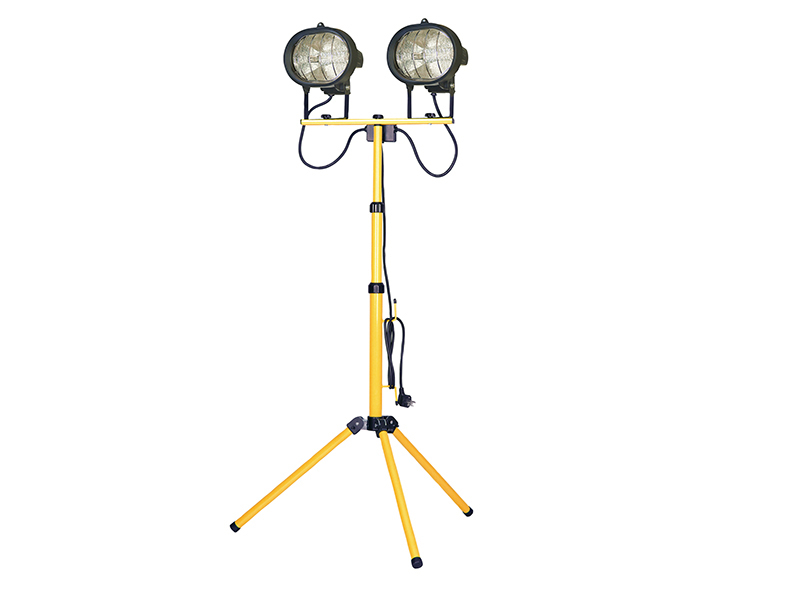 FaithFull Sitelight Twin Adjustable Stand 1000 Watt 110 Volt