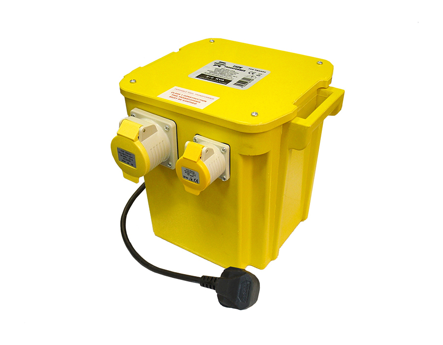 Faithfull 5 KVA Triple Outlet Transformer