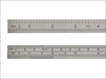 Fisco 706S Stainless Steel Rule 150mm / 6in