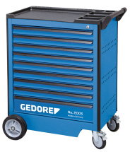 Gedore 2005 0810 Tool trolley with 9 drawers