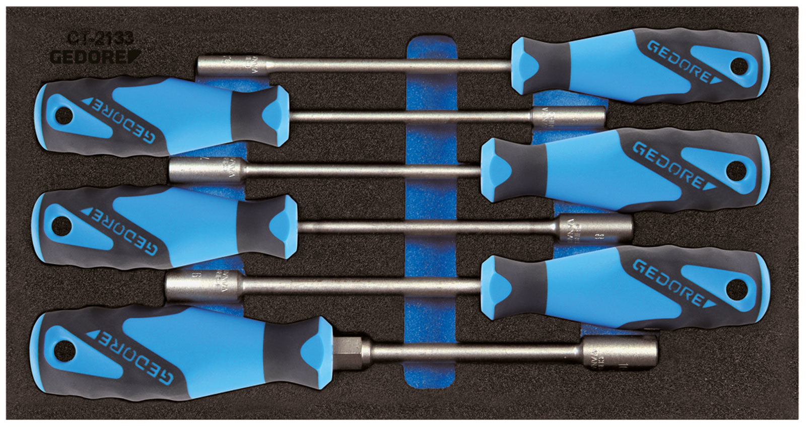 Gedore 1500 CT1-2133 Socket wrench Set