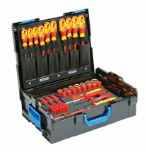 Gedore 1100-1094 VDE Tool assortment HYBRID 53 pcs in L-BOXX