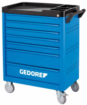 Gedore WSL-L-TS Tool trolley With Tool Set 190 Pieces