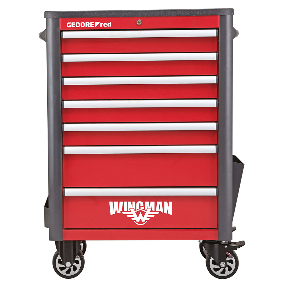 Gedore Red R20200007 Tool trolley Wingman 7drawers