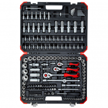 Gedore Red Socket set 1/4inch, 3/8inch, 1/2inch 172pcs