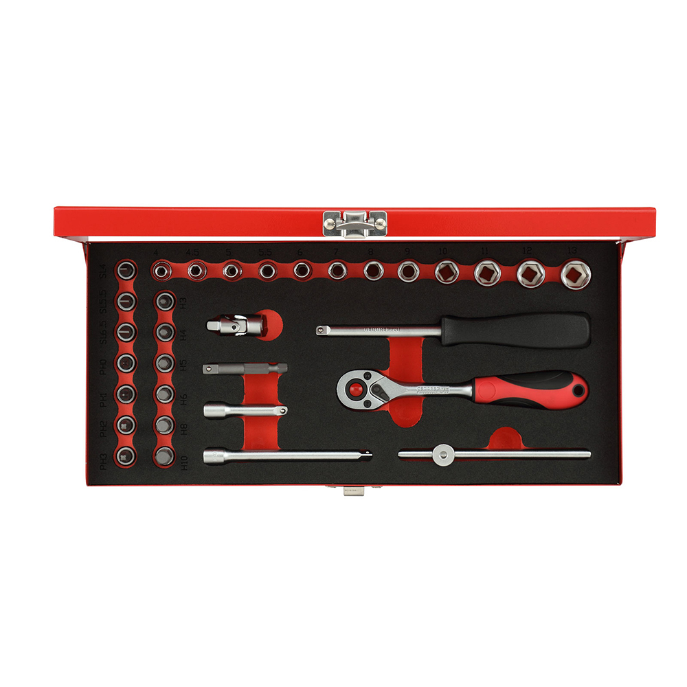 Gedore Red R49004033 Socket set size4-13mm 32pcs