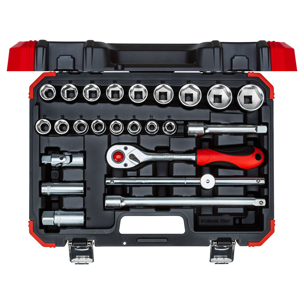 Gedore Red R69003024 Socket set 1/2inch 10-32mm 24pcs