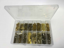 Assorted 2BA,3BA&4BA Brass Screws, Nuts and Washers