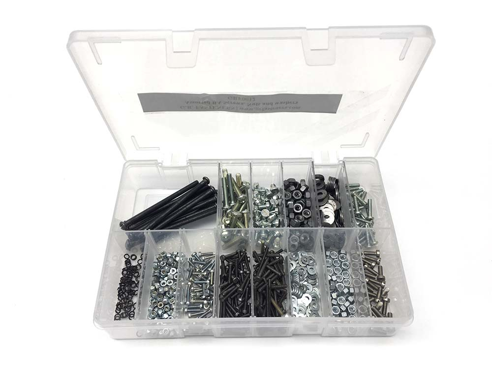 BA Assorted Machine Screws, Nuts & Washers Kit