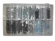 Assorted 3BA & 4BA Steel Slotted Machine Screws