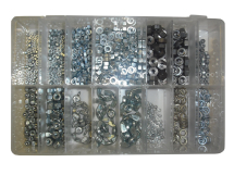 Assorted Kit Of BA Steel Nuts 625 Pieces