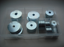 Assorted Zinc Plated Repair Washers Kit