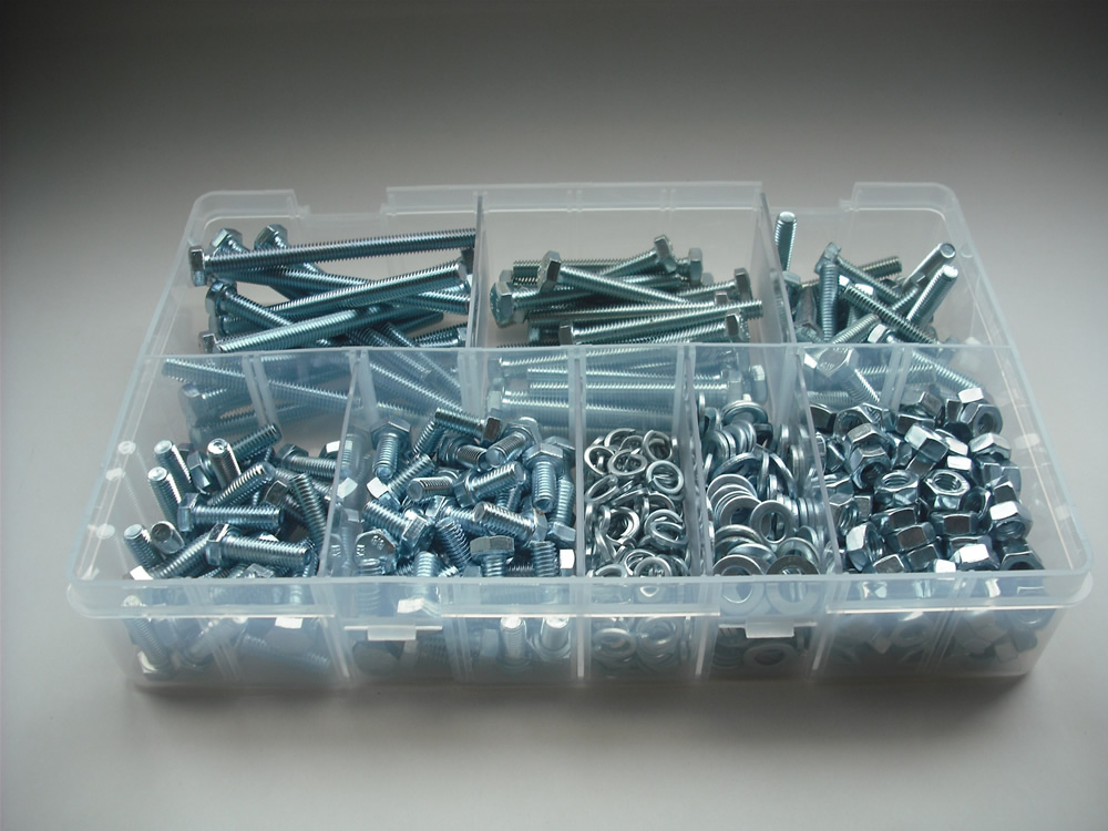 Assorted M5 Hex Sets, Nuts & Washers Kit