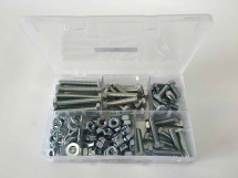Assorted M10 Hex Sets, Nuts & Washers Kit