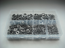 Assorted M5-M12 Stainless Steel Spring Washers Kit