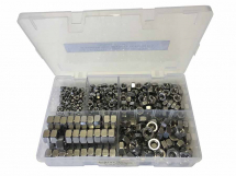 Assorted M5-M12 Stainless Steel Full Nuts Kit