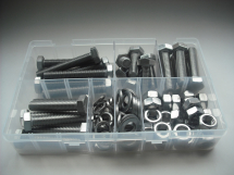 Assorted M10 Hex Sets, Nuts & Washers Stainless Steel Kit