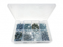 Assorted M3 Cheese Head Machine Screws, Nuts And Washers