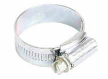 Jubilee 000 Zinc Plated Protected Hos e Clip 9.5 - 12mm (3/8 - 1/2in