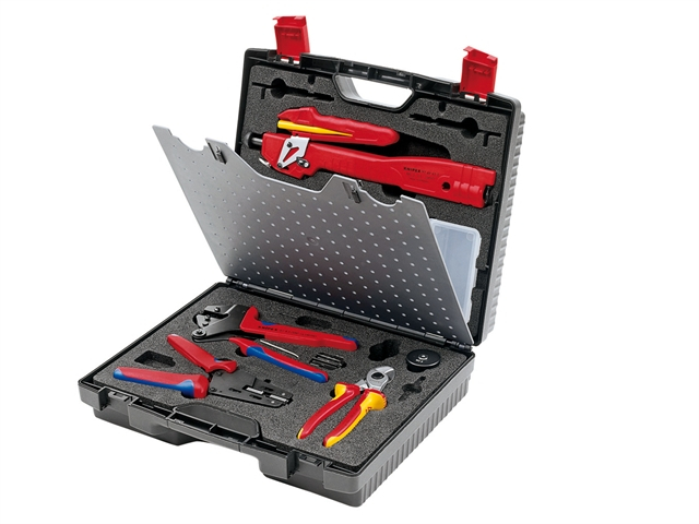 Knipex Photovoltaics Tool Case - MC3