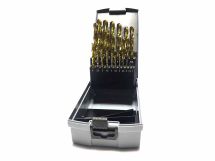 Lyndon 1-13mm TiN Coated Drill Set With Split Point 25 Piece