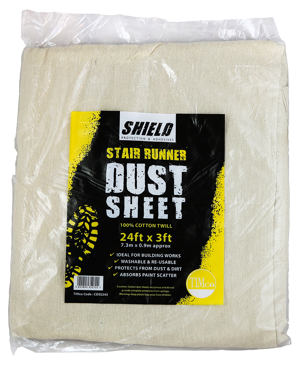 Shield Dust Sheet-Stair Runner 24ft x 3ft