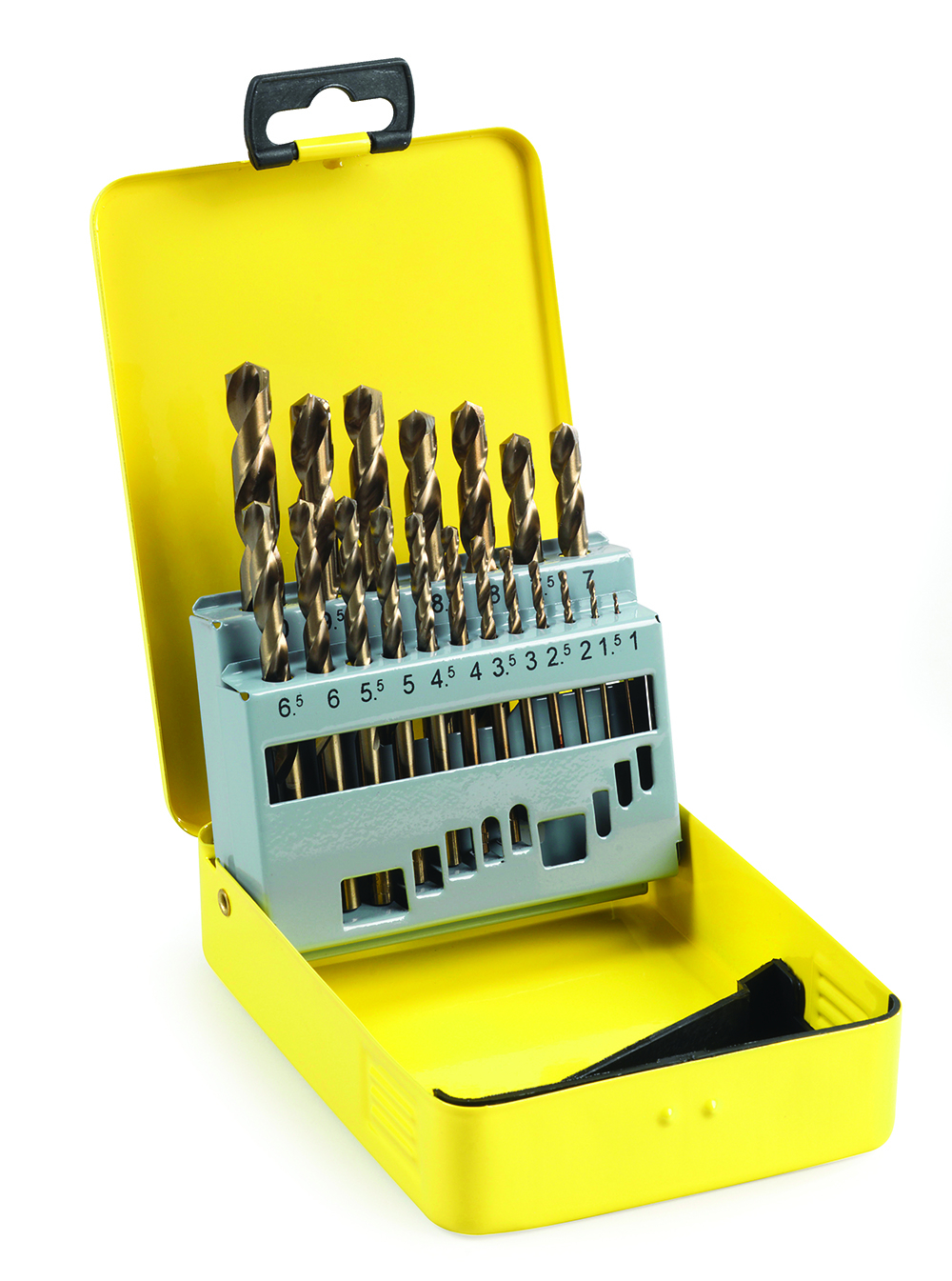 Addax Cobalt Jobber Drill Set 19 Pieces 1mm-10mm