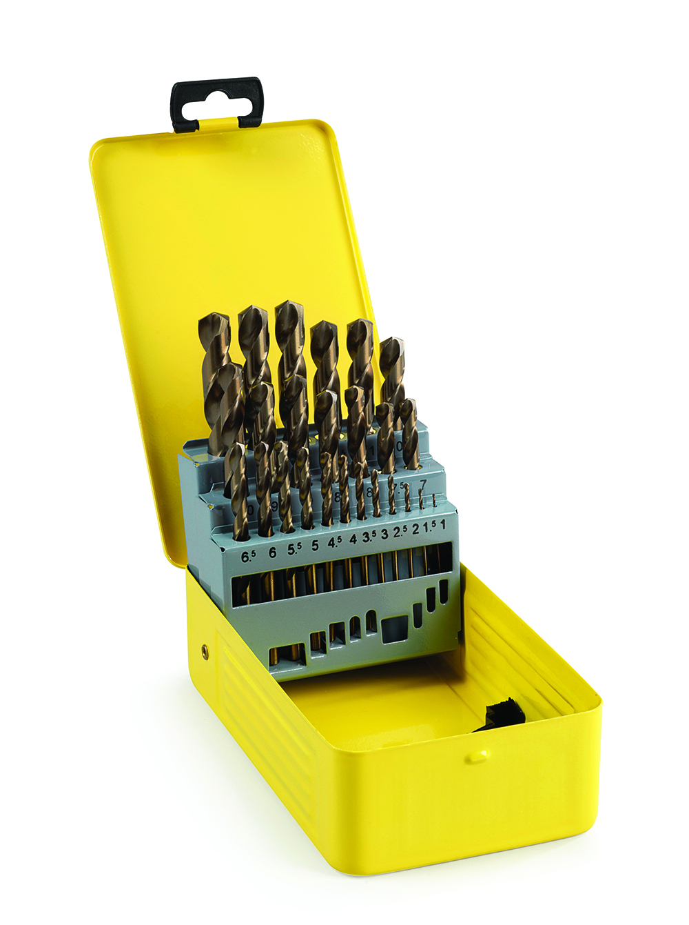 Addax Cobalt Jobber Drill Set 25 Pieces 1mm-13mm